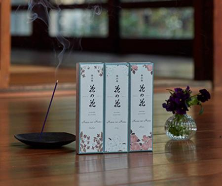 New! Perfumed Japanese Incense sticks from Nippon Kodo - Hana no Hana