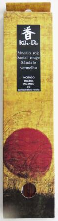 Japanese Incense | Koh-Do | Red Sandalwood) | 20 stick box | Low Smoke