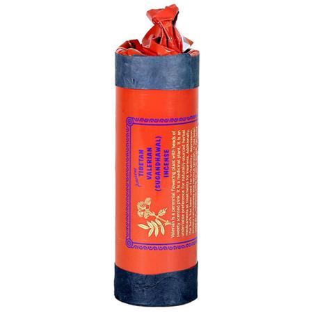 Tibetan Incense sticks | Ancient brand | Valerian (Sugandhawal) | 30 sticks and stick holder