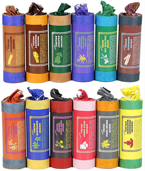 12 Himalayan Incense fragrances from Ancient | Authentic Tibetan Incense sold by Vectis Karma Online Incense Shop