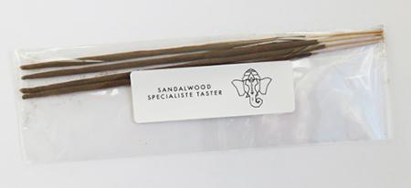 Spécialiste Sandalwood Incense | 4 Stick Taster Pack by Sacred Elephant