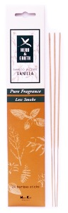 Bamboo Incense Sticks | Herb & Earth | Vanilla | by Nippon Kodo