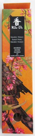 Japanese Incense | Koh-Do | White Sandalwood) | 20 stick box | Low Smoke