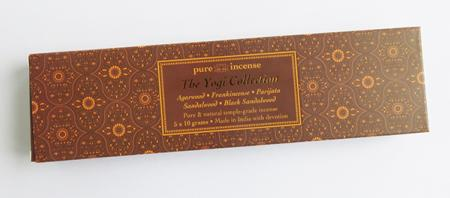 Yogi Collection Indian Incense   Pure Incense Absolute   50 gram Box