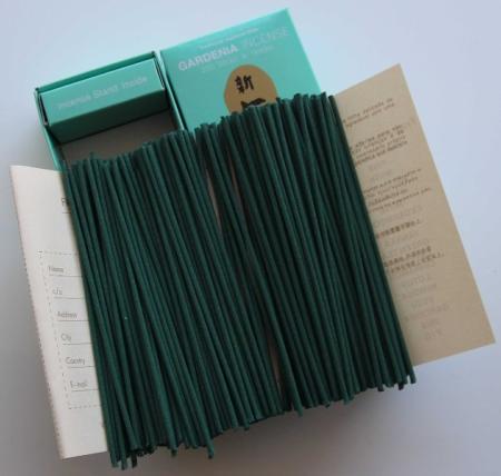 Morning Star Gardenia Incense | Box of 200 Sticks and Holder by Nippon Kodo