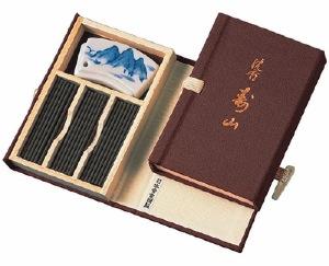Japanese Incense Sticks | Nippon Kodo | Jinkoh Juzan (Aloeswood) | 60 Short Sticks | Boxed & bound