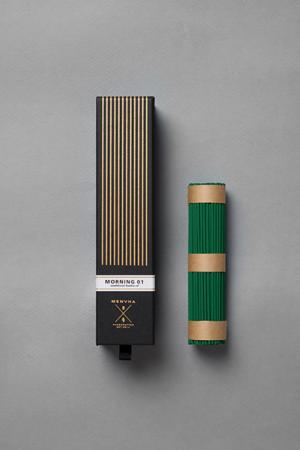 Fine Japanese Incense by Menuha | Morning 01 | 125 Stick Refill box