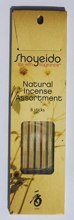 Shoyeido Daily Range 8 Stick Assortment Pack