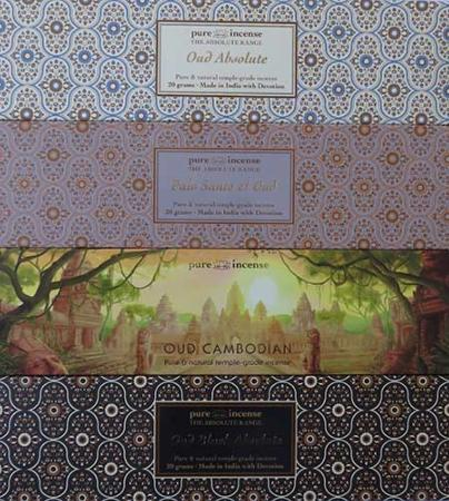 New items from Pure Incense - Luxury Indian Incense in their Absolute range