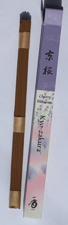 Cherry Blossoms or Kyo-zakura Japanese Incense | Box of 35 Sticks by Shoyeido