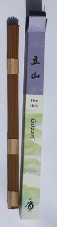 Five Hills or Gozan Japanese Incense   Box of 35 Sticks by Shoyeido