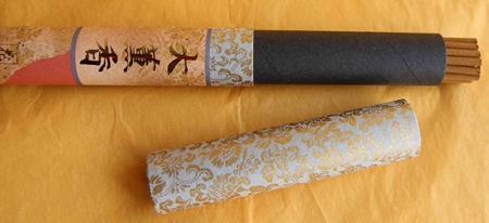 Temple Japanese Incense Sticks | Les Encens du Monde | Finest Quality | Royal Nave | 25 Long Sticks