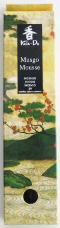 Japanese Incense | Koh-Do | Musgo - Moss (Sandalwood/Moss) | 20 Stick Box