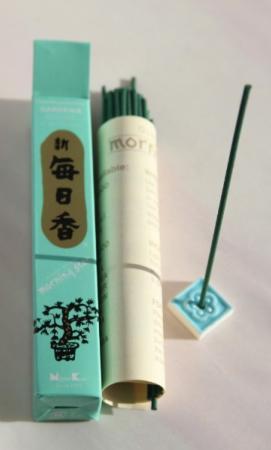 Morning Star Gardenia Incense | Box of 50 Sticks & Holder by Nippon Kodo