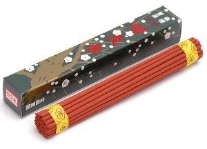 Japanese Incense Sticks | Baieido | Original Kobunboku | 25 Sticks | Boxed