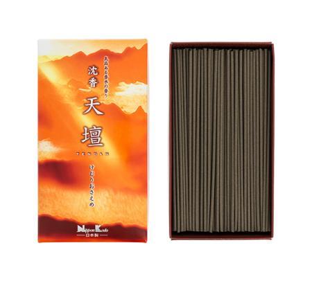 Japanese Incense | Tendan Old Temple Jinkoh (Aloeswood) | 300 Stick box