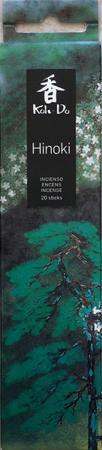 Japanese Incense | Koh-Do | Hinoki (Japanese Cypress) | 20 stick box | Low Smoke