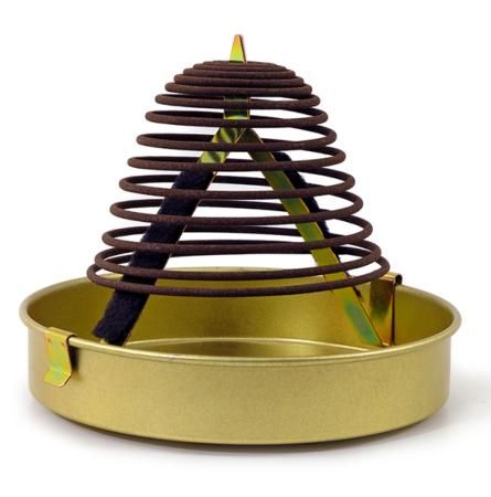 Shoyeido Ridge Series Incense Coils | New Permanence | Box of 14 Coils & Holder