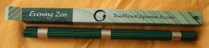 Japanese Incense   Shoyeido   Zen Evening   Long Stick Incense