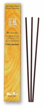 Japanese Incense   Nippon Kodo   Ka-fuh Hinoki   50 Sticks   Low Smoke