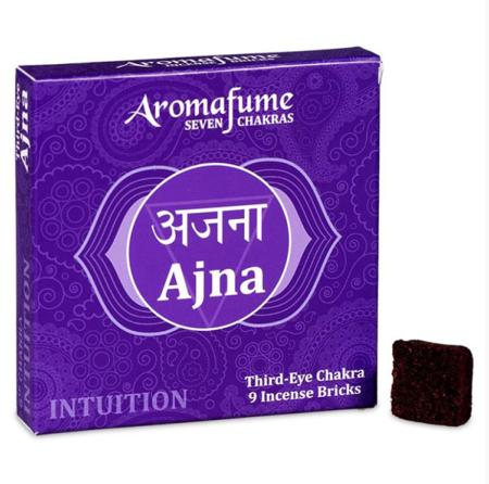 Aromafume Incense Bricks   6th Chakra - Ajna (Third Eye Chakra)   9 brick pack