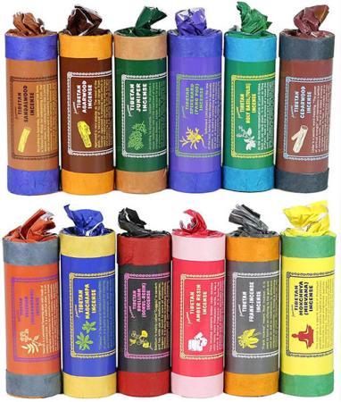Tibatan Incense Sticks and Incense Holder   sold by Vectis Karma