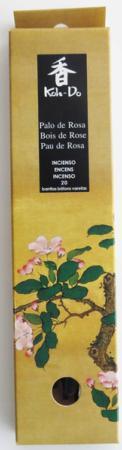 Japanese Incense | Koh-Do | Palo de Rosa (Rosewood) | 20 Stick Box