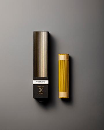 Fine Japanese Incense by Menuha | Morning 02 | 125 Stick Refill box