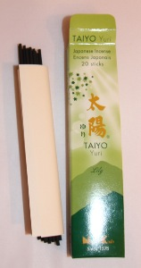 Japanese Incense Sticks | Quality Collection | Taiyo Yuri Lily | Nippon Kodo