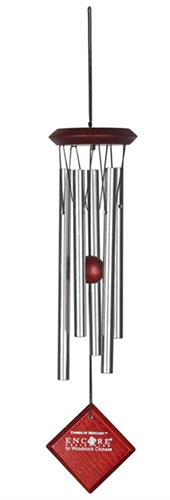 Woodstock Chimes   Chime of Mercury in Silver