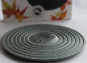 Izumu Incense Burner in Grey - by Les Encens du Monde sold by Vectis Karma