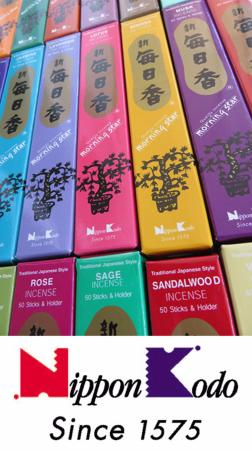 An update on Morning Star Japanese Incense by Nippon Kodo