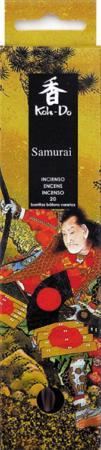 Japanese Incense | Koh-Do | Samurai (Spicy Sandalwood) | 20 stick box | Low Smoke