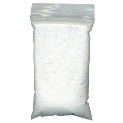 200g bag of White marble sand used to fill incense bowls