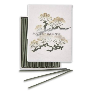 Japanese Incense | Hanga - Pine | 90 Stick Art box by Kousaido