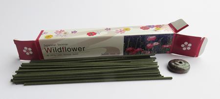 Japanese Incense Sticks | Baieido Imagine series | Wildflower fragrance | 40 Sticks