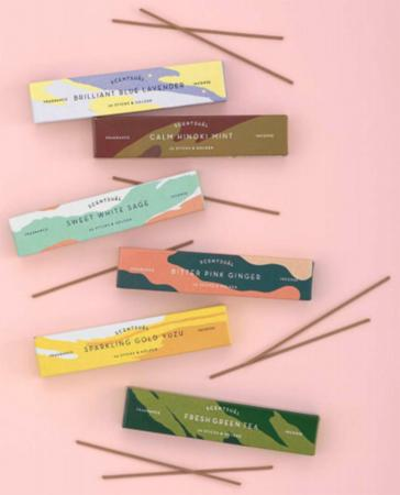 A new range of 6 natural fragrances from Nippon Kodo called 'Scentsual'