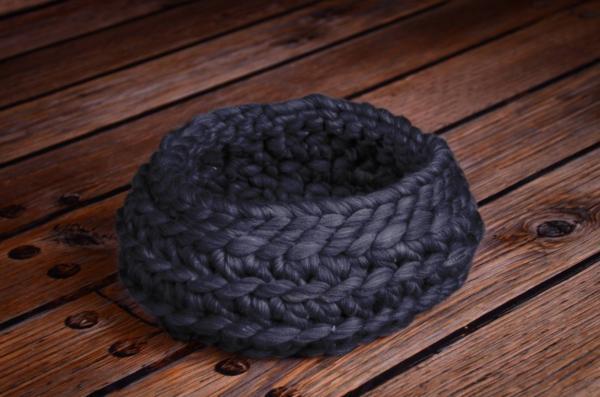 Cesta lana viola