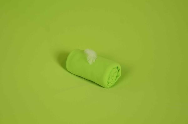 Tela di maglia verde lime