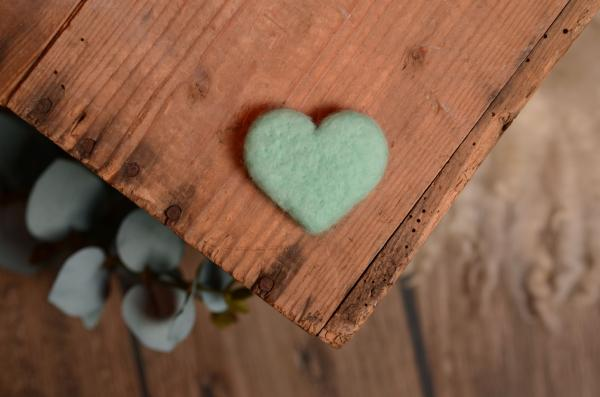 Aquamarine heart