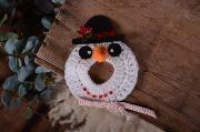 Muñeco para objetivo de muñeco de nieve