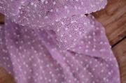 Wrap con borlas lila