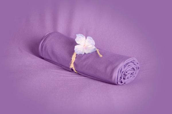 Light lilac smooth fabric
