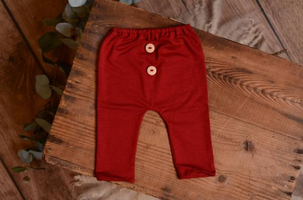 Red wine stitch pair of pants