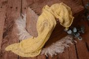 Wrap di rayon giallo chiaro