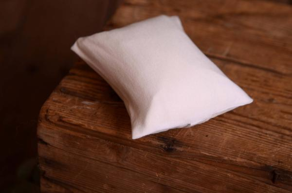 White minipillow cover
