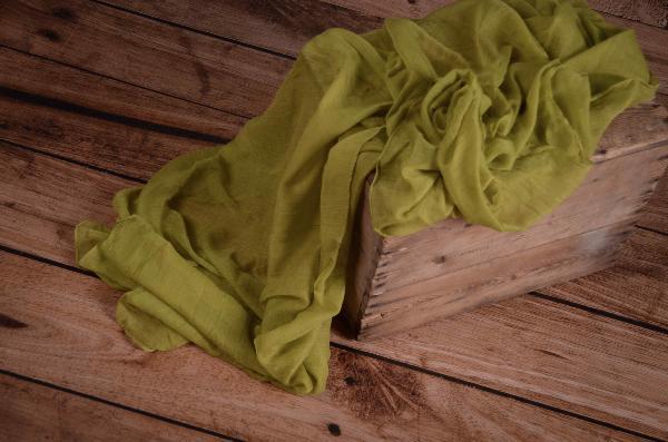 Wrap di mussolina verde pistacchio
