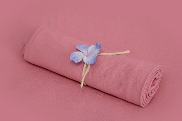 Tela liscia rosa antico