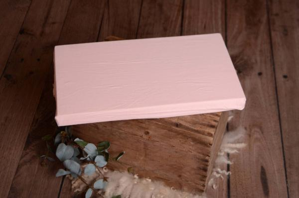 Mattress with baby pink cover