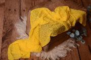Yellow rayon wrap